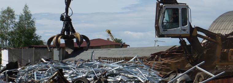 Утилизация металлолома в Москве